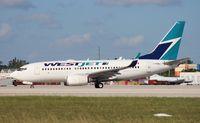 C-FBWJ @ MIA - West Jet 737-700