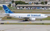 C-FDAT @ FLL - Air Transat A310