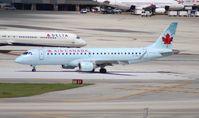C-FHJJ @ MIA - Air Canada E190 - by Florida Metal