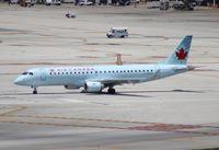 C-FHOY @ MIA - Air Canada E190 - by Florida Metal