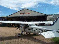 CX-CAJ @ SUAA - Cessna 172M en mantenimiento Aerotecno SA - by aeronaves CX