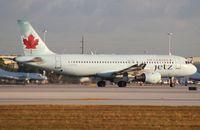 C-FPWD @ MIA - Air Canada AC Jetz A320