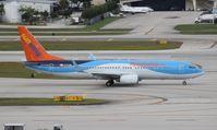 C-FTZD @ FLL - Sunwing Thompson 737-800 hybrid