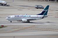 C-FWBW @ MIA - West Jet 737-700