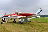 N4173T @ EBDT - Cessna 320D Executive Skyknight [320D-0073] Schaffen-Diest~OO 10/08/2006 - by Ray Barber