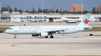 C-GIUF @ MIA - Air Canada A321