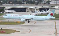 C-GJWI @ FLL - Air Canada A321