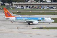 C-GKVY @ FLL - Sunwing RIU Hotels and Resorts logo 737-800 - by Florida Metal