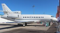 C-GLXC @ ORL - Falcon 900EX at NBAA - by Florida Metal