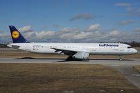 D-AISU @ EDDM - Lufthansa Airbus 321