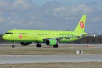 VQ-BQH @ EDDM - S7 Airbus 321
