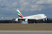 A6-EDL @ EDDM - Emirates Airbus 380 - by Dietmar Schreiber - VAP