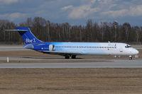 OH-BLI @ EDDM - Blue 1 Boeing 717