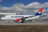 F-ORAH @ EDDM - Air Serbia Airbus 319