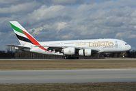 A6-EDL @ EDDM - Emirates Airbus 380