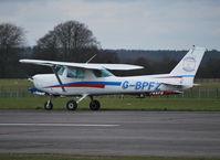 G-BPFZ @ EGTU - Cessna 152 at Dunkeswell. Ex N94594. - by moxy