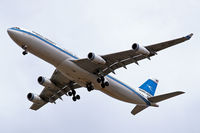 9K-AND @ EGLL - Airbus A340-313 [104] (Kuwait Airways) Home~G 29/07/2006