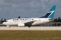 C-GWCY @ MIA - West Jet 737-600