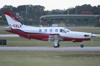 C-GXLF @ ORL - TBM-700 - by Florida Metal