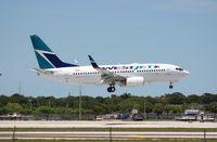 C-GYWJ @ FLL - West Jet 737-700