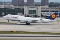 D-ABVM @ MIA - Lufthansa 747-400