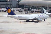 D-ABVW @ MIA - Lufthansa 747-400