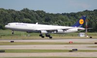 D-AIGX @ DTW - Lufthansa A340-300