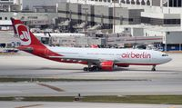 D-ALPA @ MIA - Air Berlin A330-200