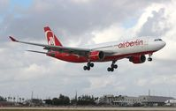 D-ALPF @ MIA - Air Berlin A330-200