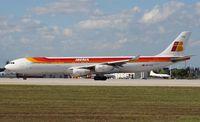EC-LKS @ MIA - Iberia A340-300
