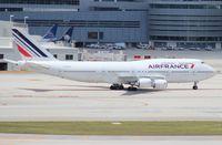F-GITD @ MIA - Air France 747-400