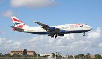 G-BNLJ @ MIA - British 747-400