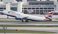 G-BNLS @ MIA - British 747-400