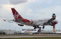 G-VFAB @ MIA - Lady Penelope Virgin 747-400