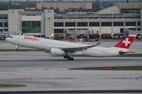 HB-JHD @ MIA - Swiss A330-300
