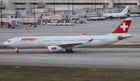 HB-JHF @ MIA - Swiss A330-300