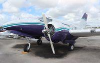 HH-JBD @ TMB - Haitian registered Beech JRB-6 single tail tri gear conversion