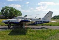 SE-GAD @ ESKB - Piper PA-34-200 Seneca [34-7350211] Stockholm-Barkarby~SE 07/06/2008