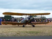 VH-AGH @ YMPC - Avro Cadet at the RAAF100th Anniversary Airshow, Pt Cook, March 2, 2014