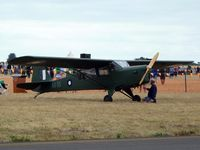 VH-BDM @ YMPC - Auster III at the RAAF100th Anniversary Airshow, Pt Cook, March 2, 2014