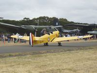 VH-CZB @ YMPC - Moth Minor at the RAAF100th Anniversary Airshow, Pt Cook, March 2, 2014