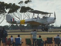 VH-LJM @ YMPC - Tiger Moth at the RAAF100th Anniversary Airshow, Pt Cook, March 2, 2014 - by red750