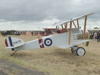 VH-PSP @ YMPC - Sopwith Pup Replica at the RAAF100th Anniversary Airshow, Pt Cook, March 2, 2014