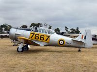 VH-XSA @ YMPC - Harvard at the RAAF100th Anniversary Airshow, Pt Cook, March 2, 2014