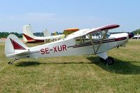SE-XUR @ ESKB - SE-XUR   Piper PA-18-150 Super Cub [18-1463] Stockholm-Barkarby~SE 07/06/2008