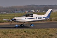 G-BTDR @ EGHH - Resident taxiing in - by John Coates