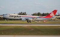 LX-VCB @ MIA - Cargolux 747-800 - by Florida Metal