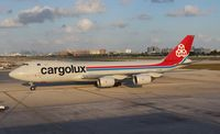 LX-VCB @ MCO - Cargolux 747-800 - by Florida Metal