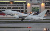 M-YBBJ @ MIA - Boeing BBJ