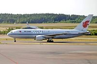 B-2556 @ ESSA - Boeing 767-2J6ER [24157] (Air China) Stockholm-Arlanda~SE 06/6/2008 - by Ray Barber